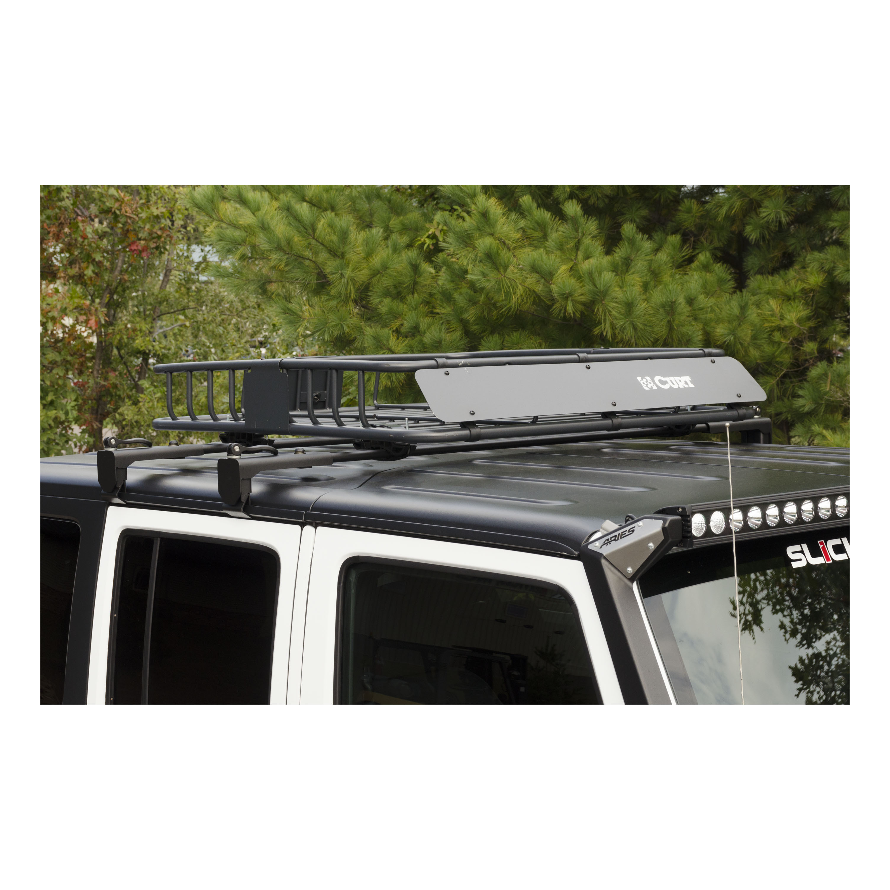 2070450 Aries Roof Rack Cross Bar Gutter Clamp Mount/ For Use With