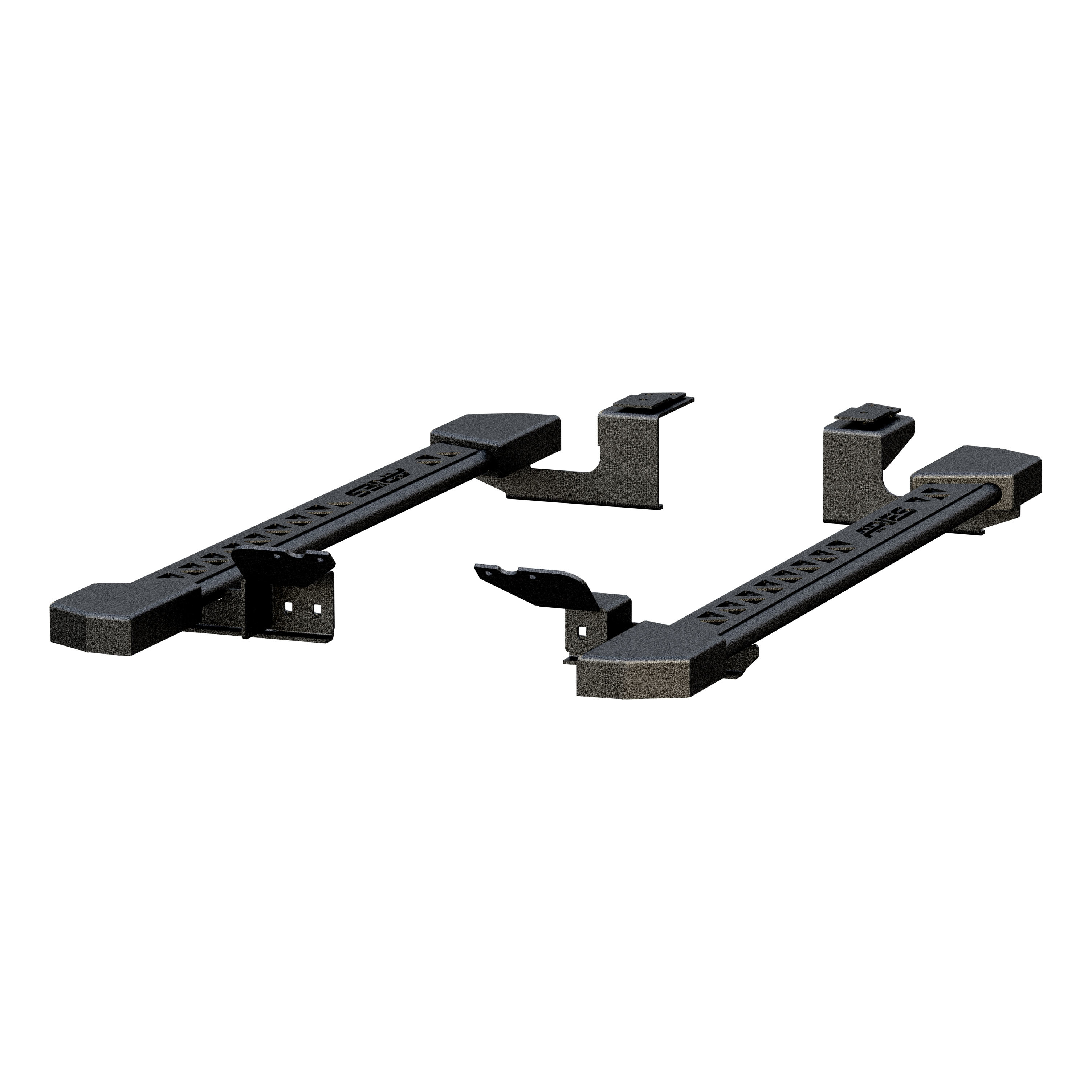 2074102 Aries Nerf Bar With Full Length Step Plate
