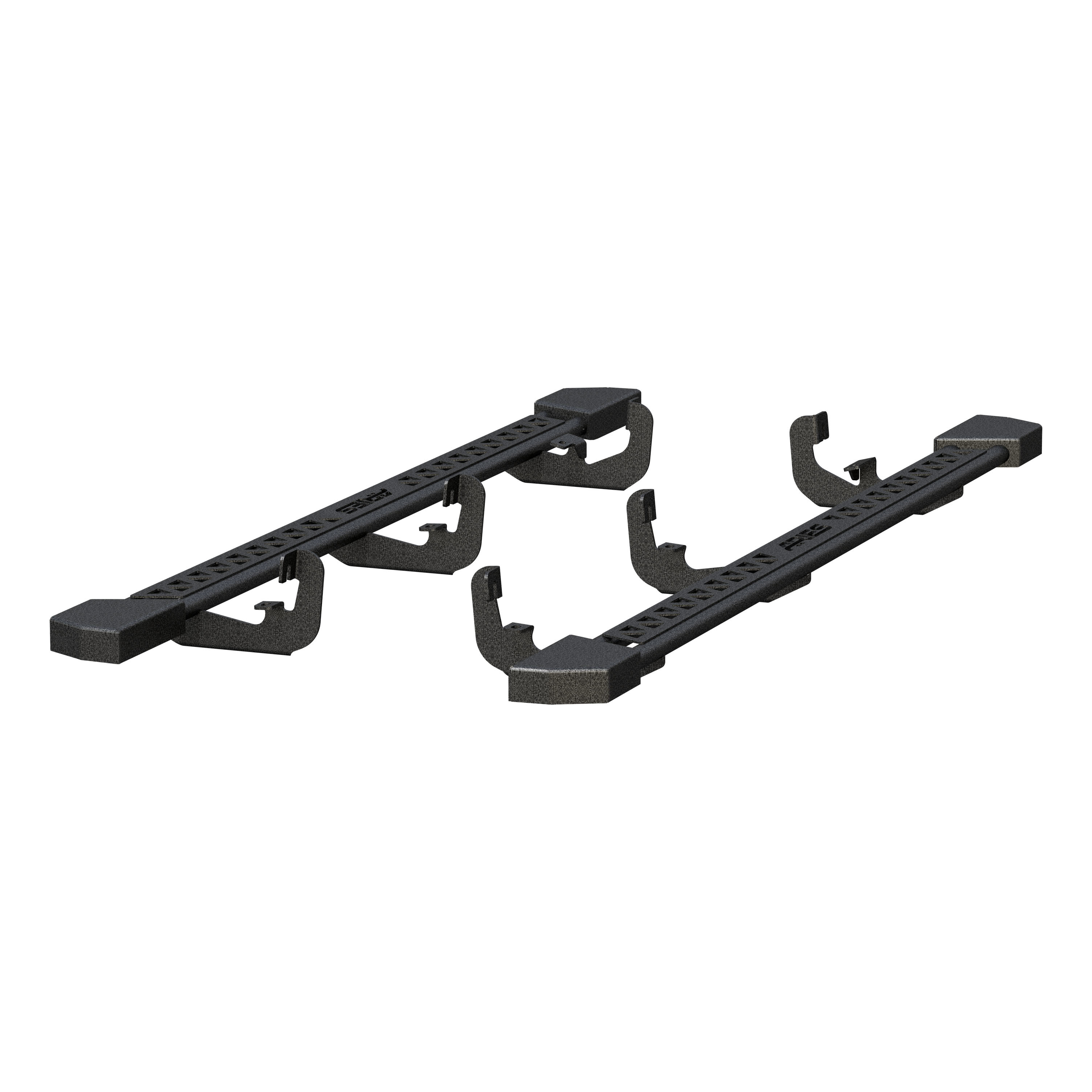 2074106 Aries Nerf Bar With Full Length Step Plate