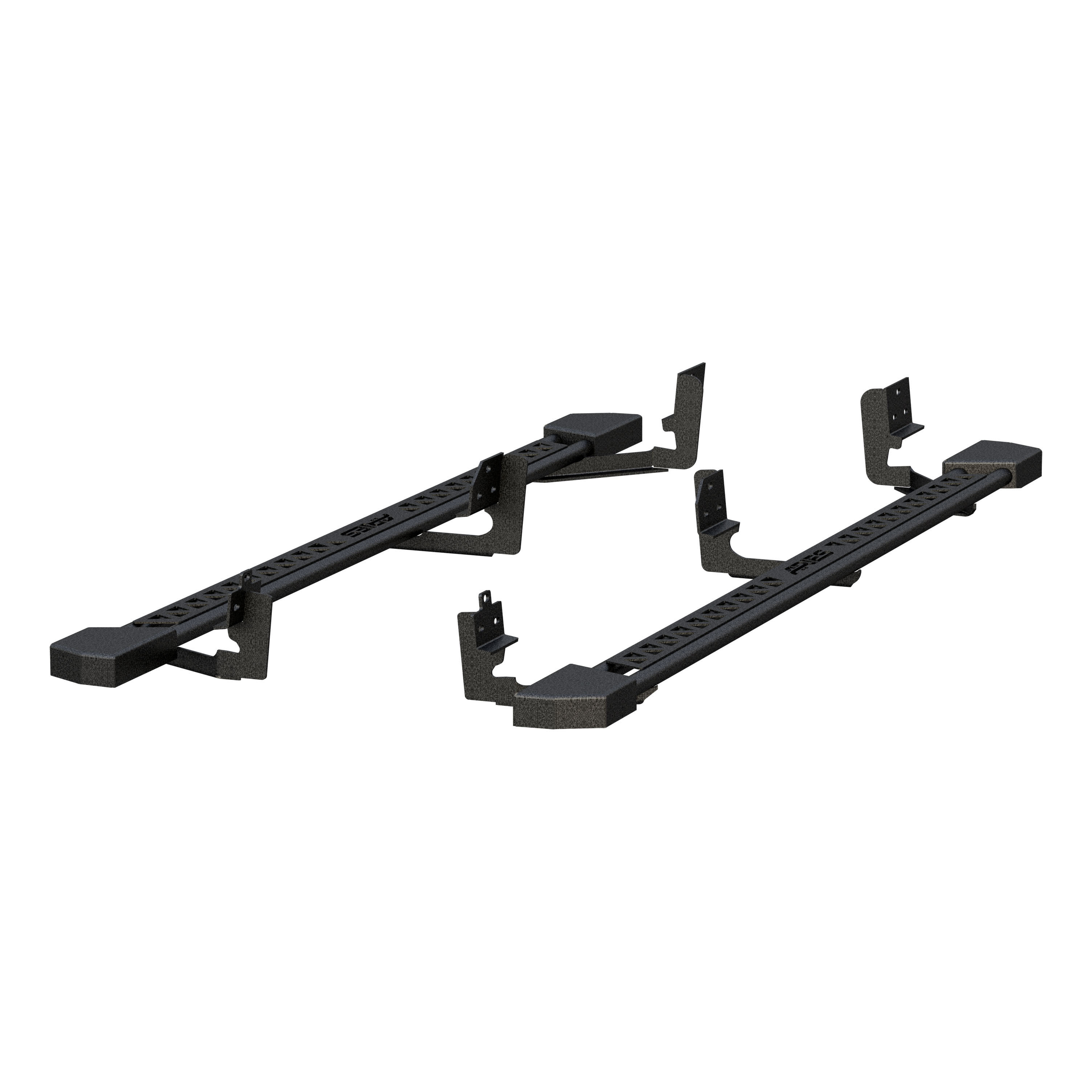 2074110 Aries Nerf Bar With Full Length Step Plate