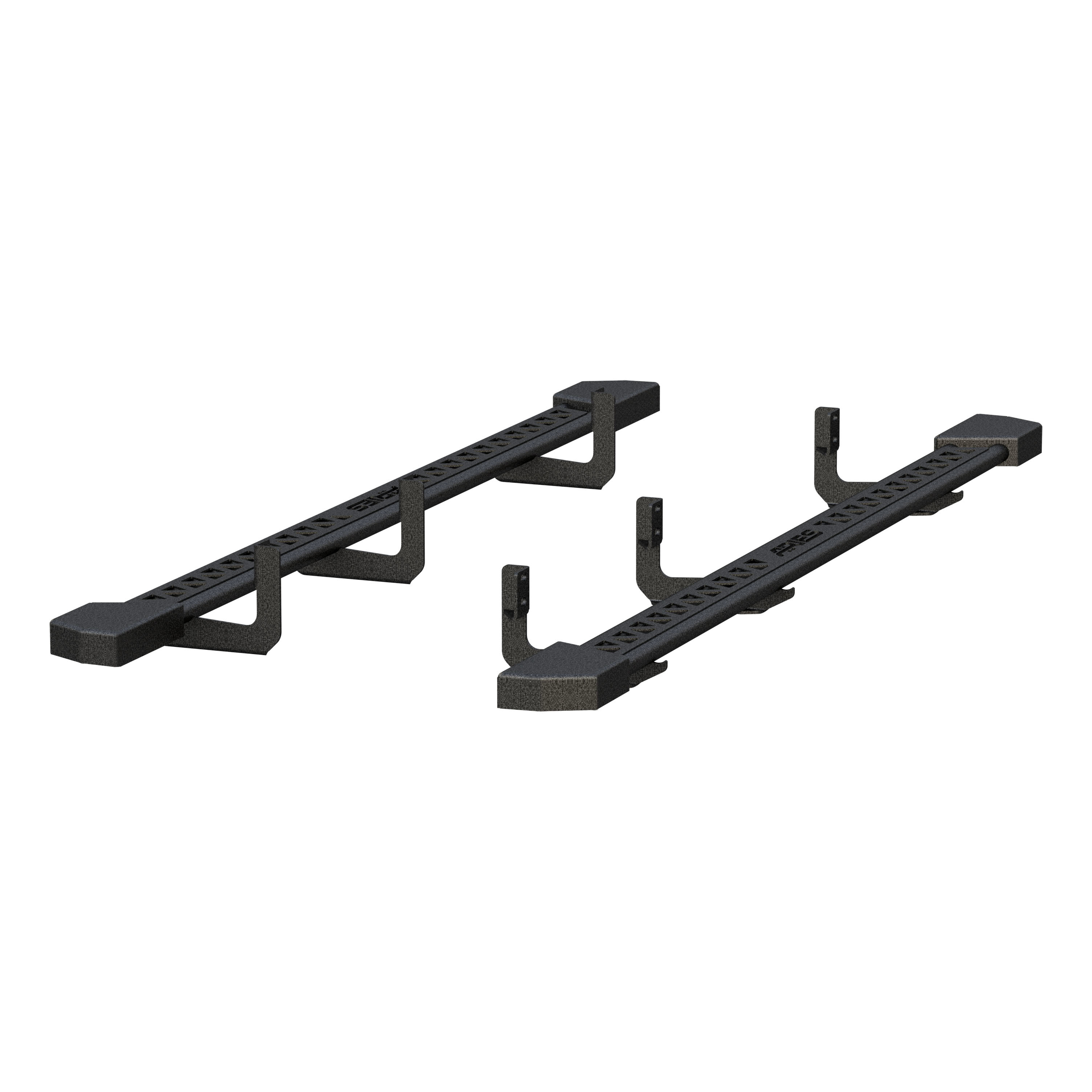 2074140 Aries Nerf Bar With Full Length Step Plate