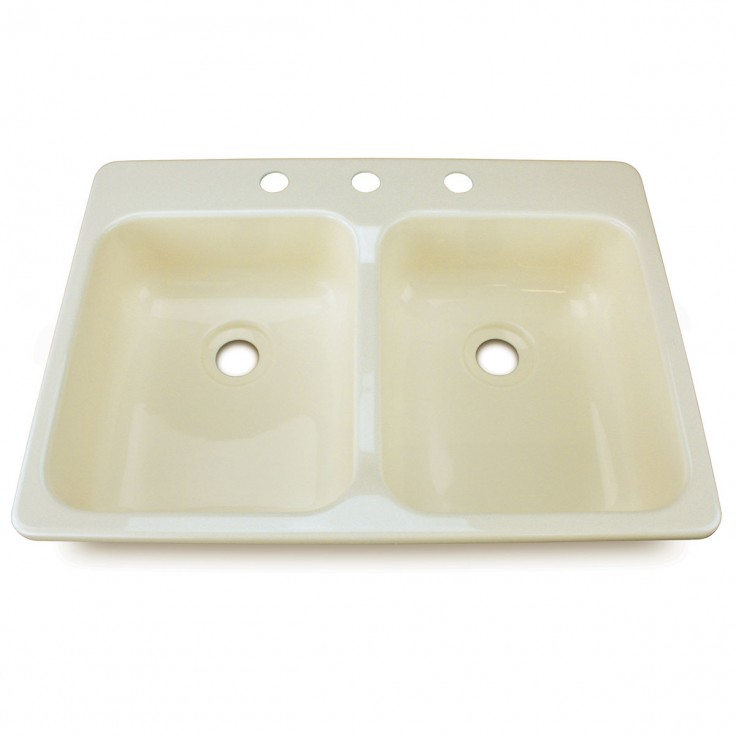 209401 Lippert Components Sink Double Kitchen Sink