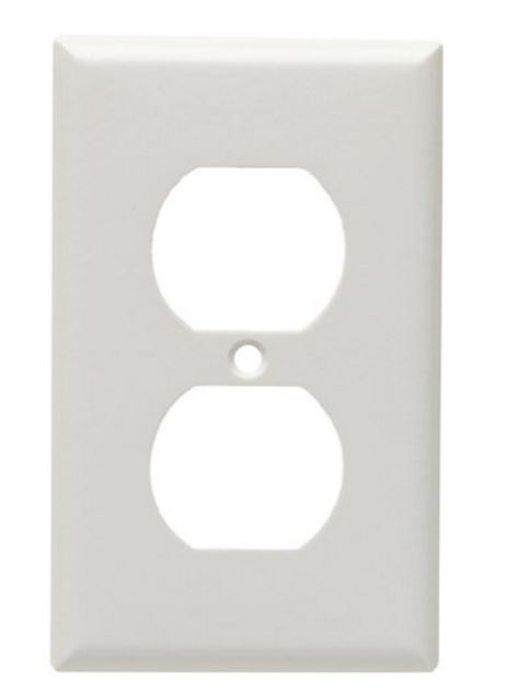 2132W-BOX Cooper Wire Receptacle Cover For Duplex Receptacle