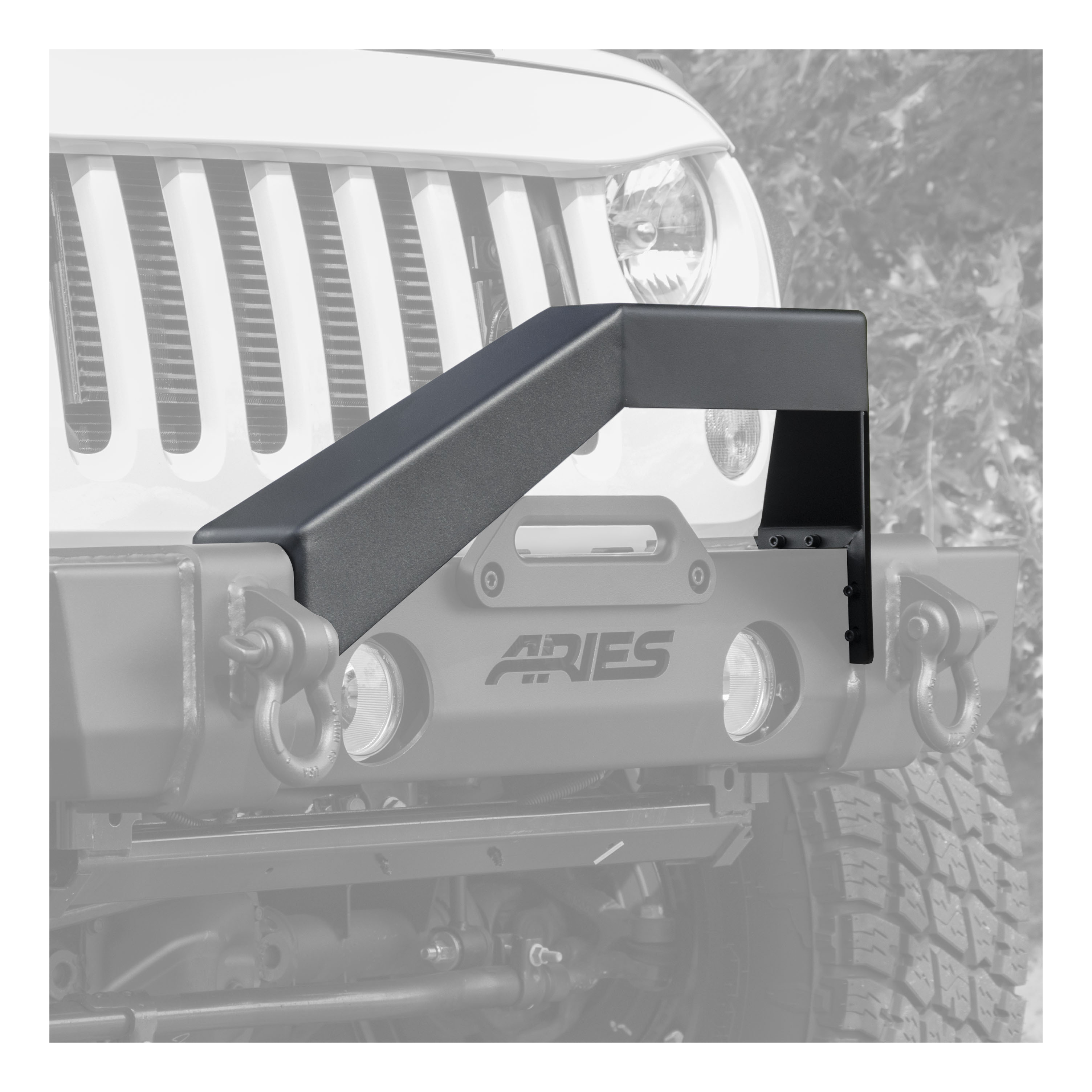 2156050 Aries Bull Bar Powder Coated