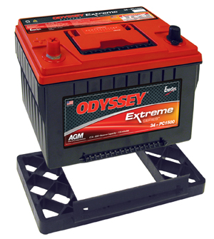 2220-1251 Odyssey Battery Battery Tray Use With Odyssey PC1500 Where