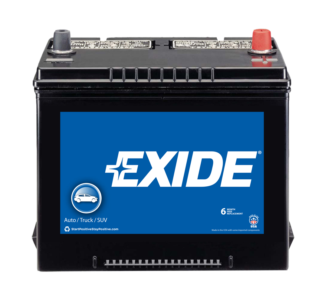 24F Exide Technologies Battery OE Replacement