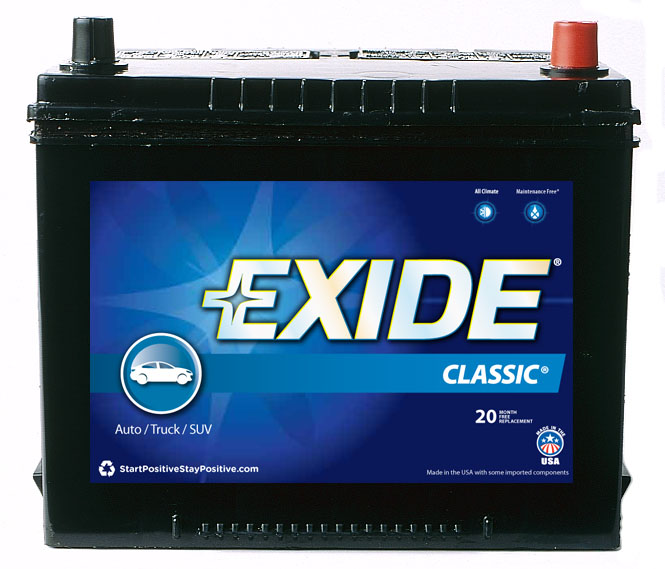 24FC Exide Technologies Battery OE Replacement