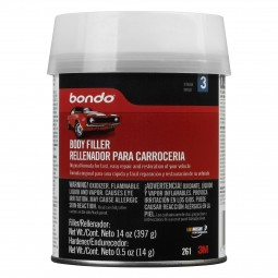 261 Bondo Body Filler Use To Repair Fiberglass/ Wood/ Metal/