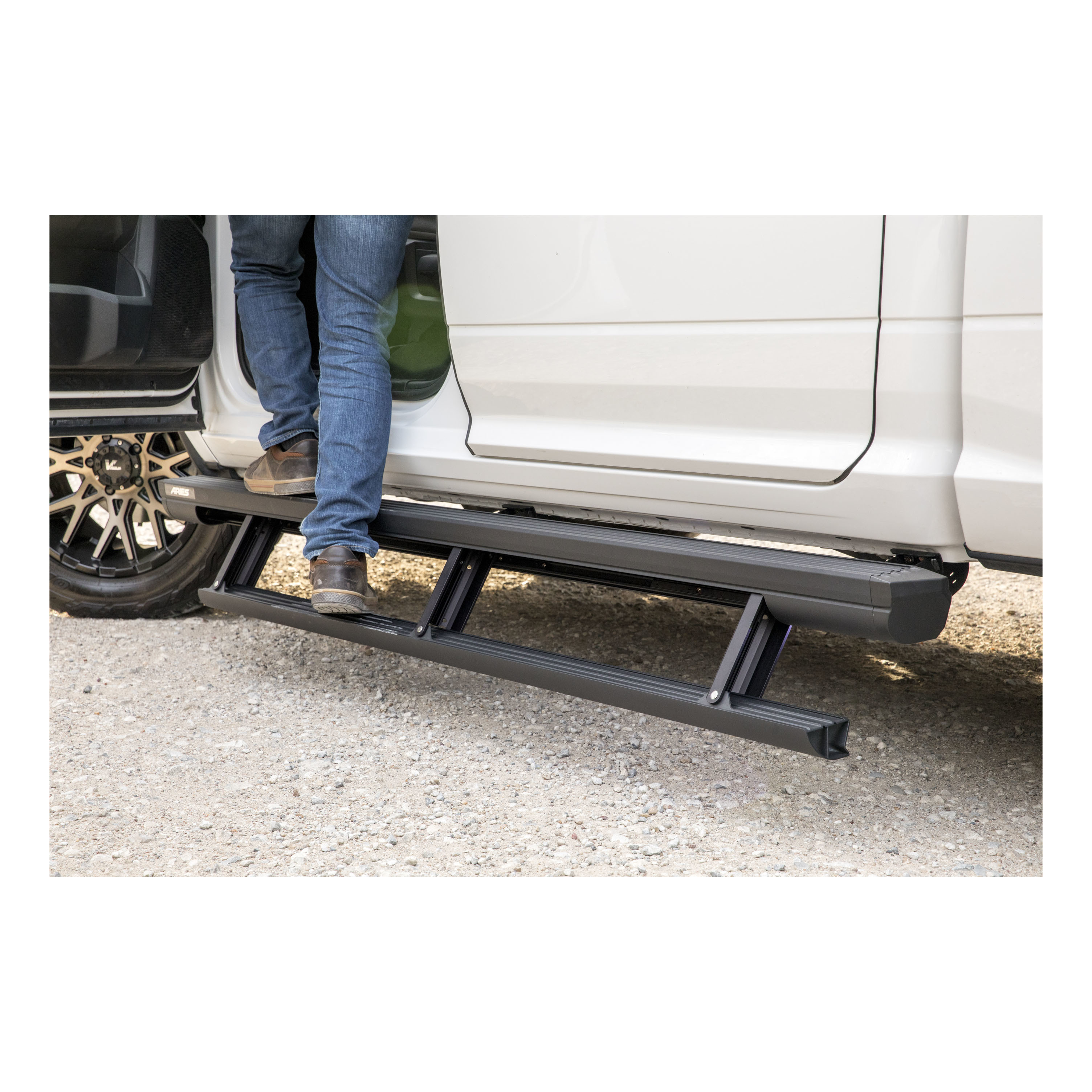 3025179 Aries Running Board Powder Coated