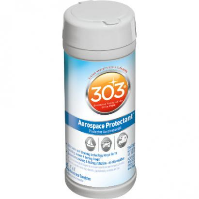 30321 303 Products Inc. Vinyl Protectant 40 Wipes Cylinder