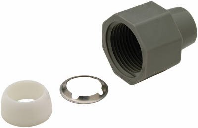 QBBFNCR1N Zurn Fresh Water Fitting Nut For 1/4 Inch Inside Diameter