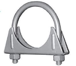 35 Nickson Exhaust Clamp 1-7/8 Inch Diameter