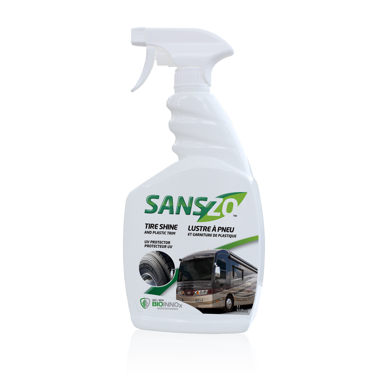 P-1152-32 Sans-Zo Car Wash Tire Dressing Shines And Protects Tires/