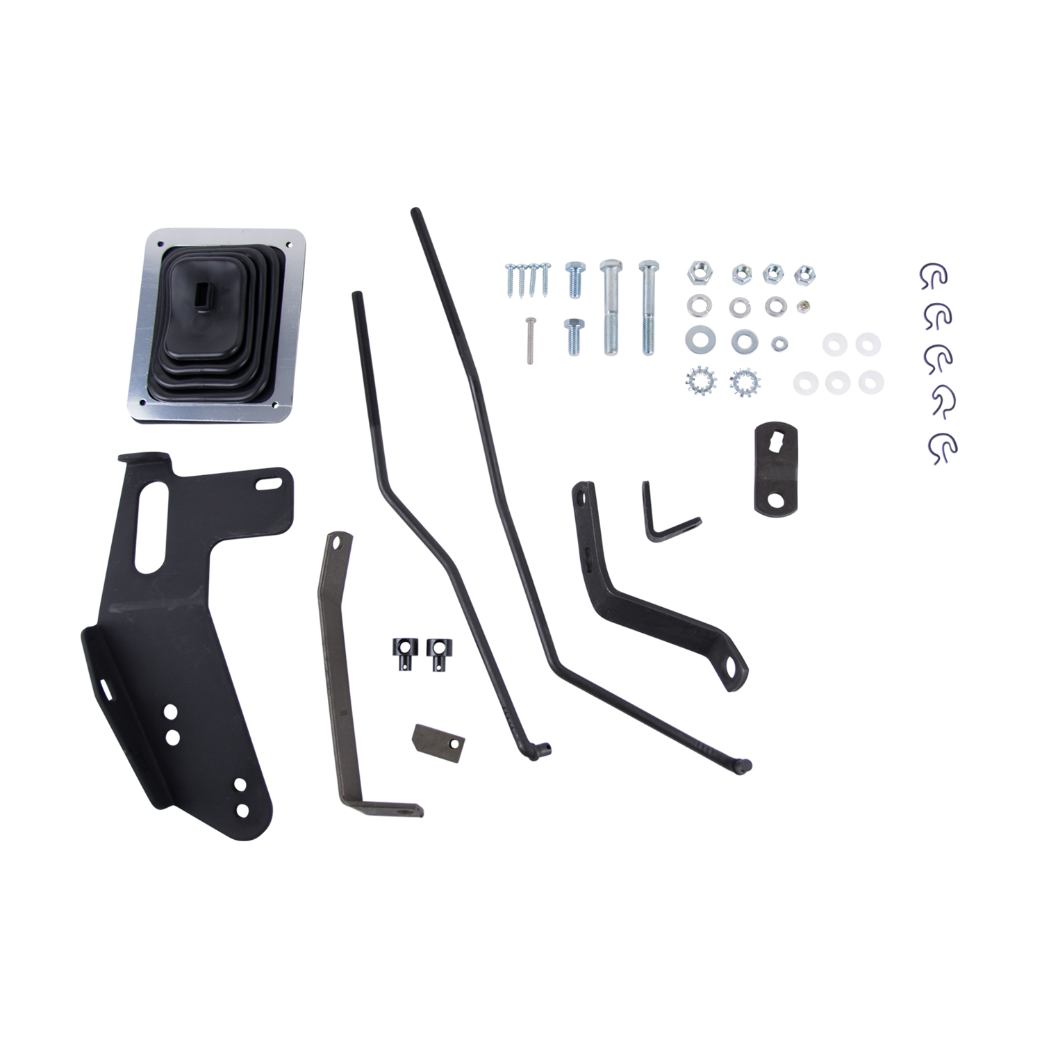 3670006 Hurst Manual Trans Shifter Installation Kit For Use With 343