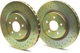 37193 Brembo Brake Rotor Cross Drilled