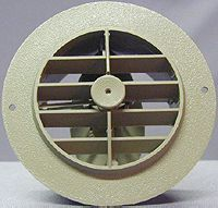 3840ROW D&W Inc. Heating/ Cooling Register Round