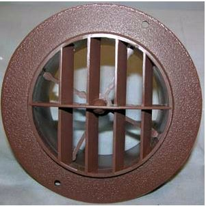 3840WN D&W Inc. Heating/ Cooling Register Round
