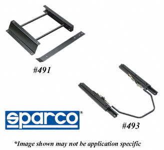 5002060 Sparco USA Seat Adapter Bracket Works With Sparco Racing Seat