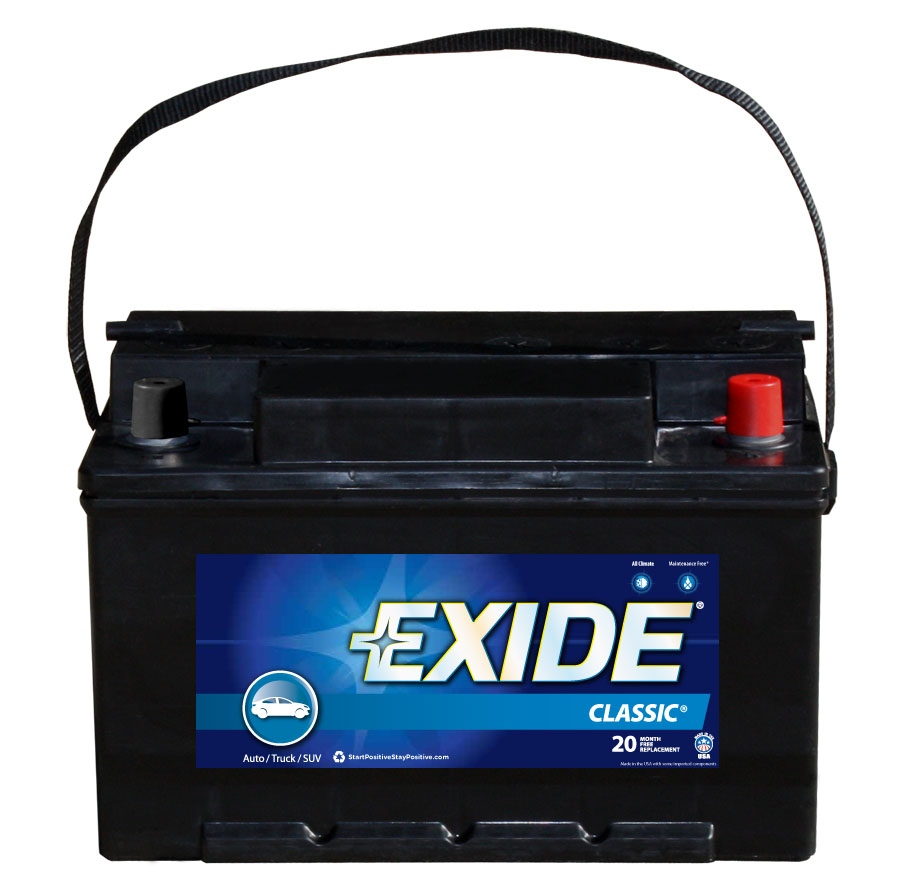 40RC Exide Technologies Battery OE Replacement