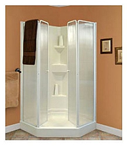 D40wcw Lyons Shower Door Trackless Foldable Door