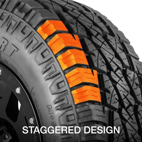 42457016XL Pro Comp Tires Tire LT245 x 70R16