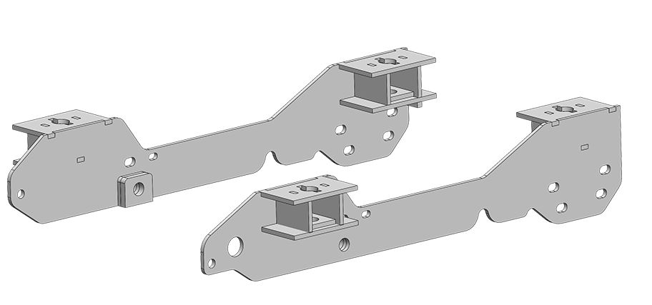 4428 PullRite Fifth Wheel Trailer Hitch Mount Kit Use With SuperGlide