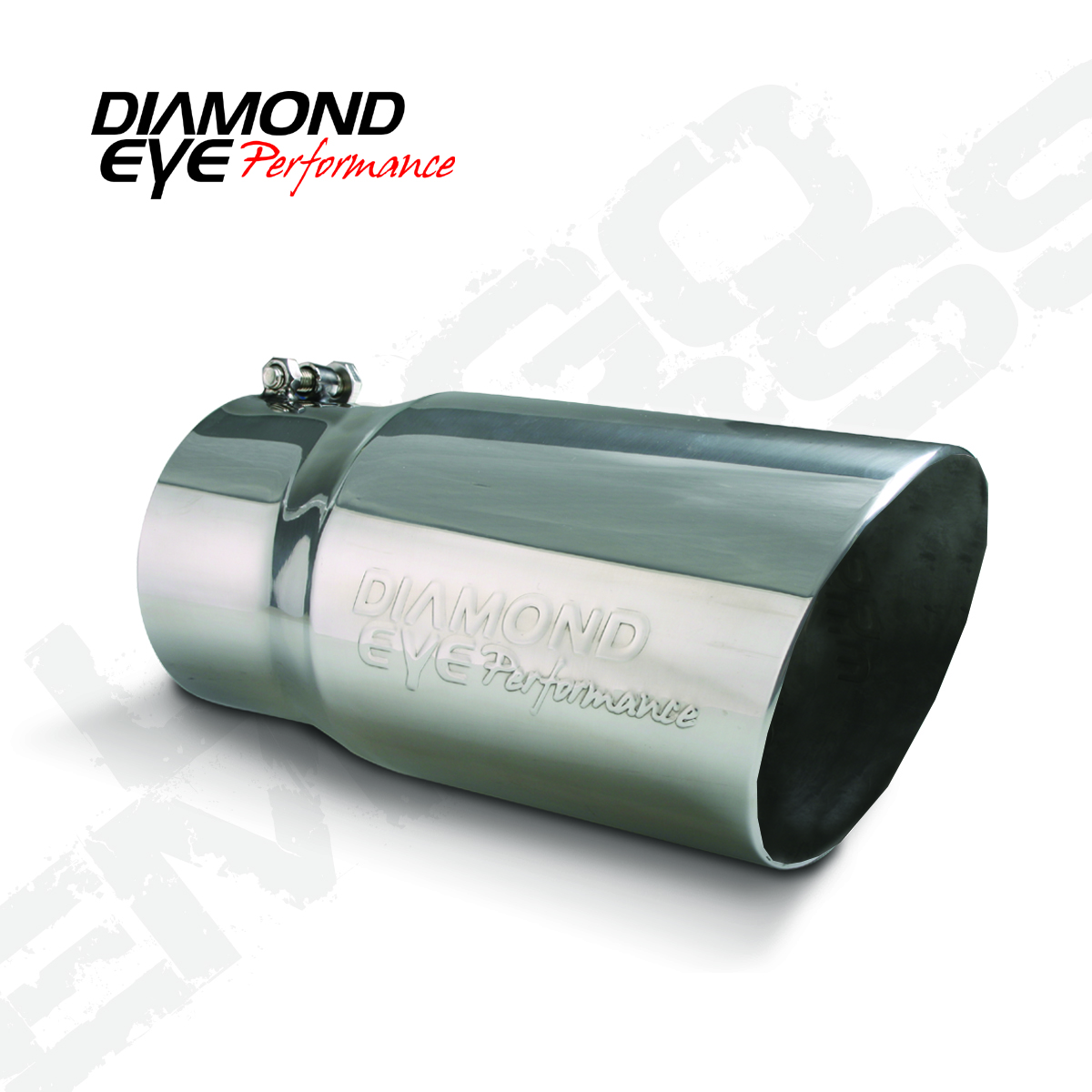4512BAC-DE Diamond Eye Performance Exhaust Tail Pipe Tip 4 Inch