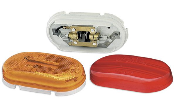 45262 Grote Industries Side Marker Light Universal Surface Mount