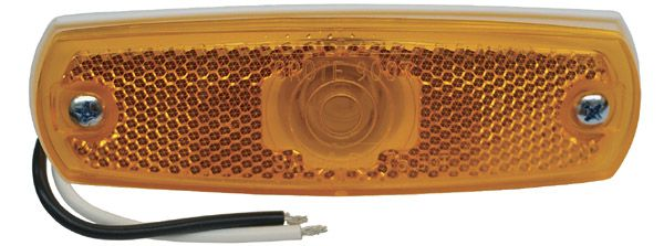 45713 Grote Industries Side Marker Light Universal Flush Mount With