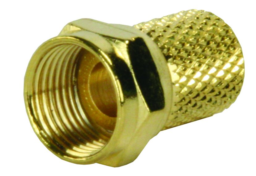 47275 JR Products Antenna Cable Connector RG6 Coaxial End