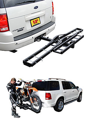 48-979033 Ultra-Fab Products Motorcycle Carrier - Receiver Hitch