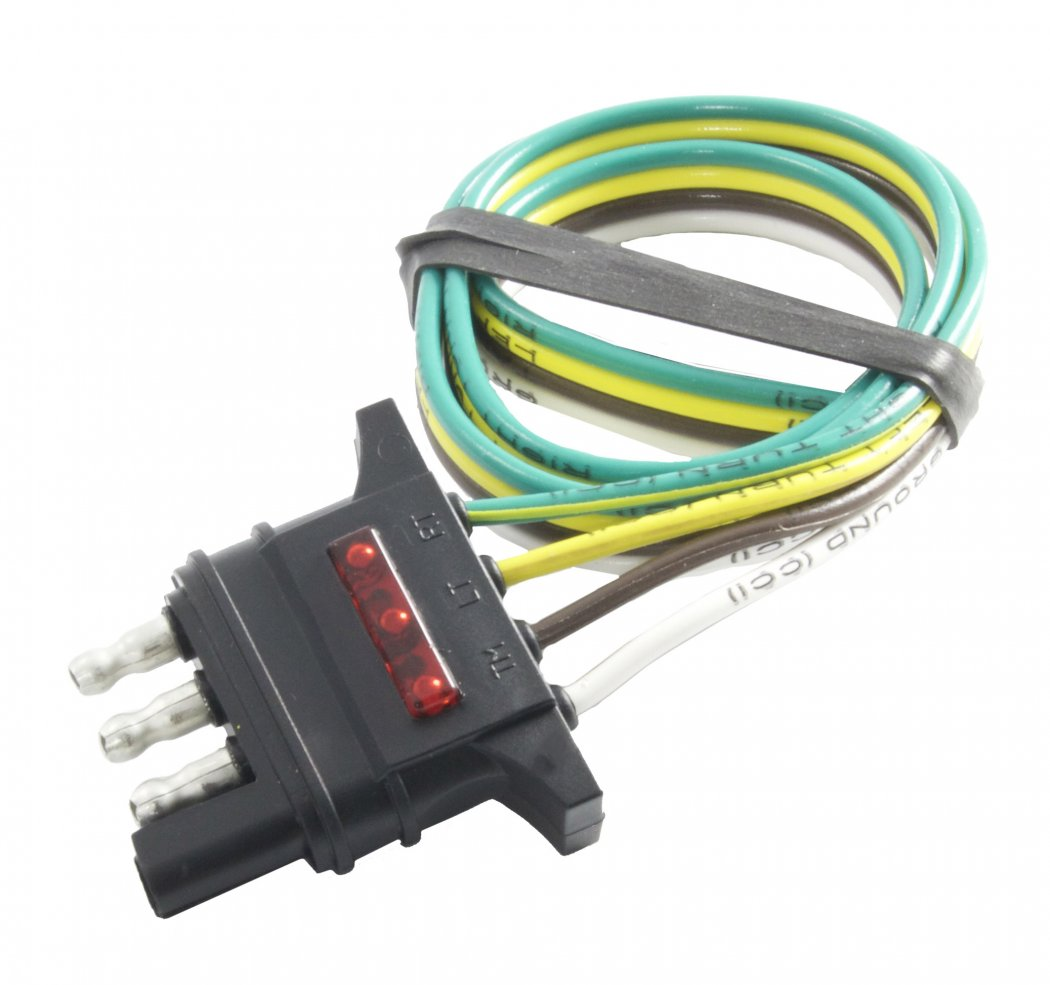 48133 Hopkins MFG Trailer Wiring Connector Trailer End