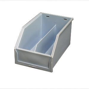 265335 Genova Display-Tort Divided Display Bin-9X5