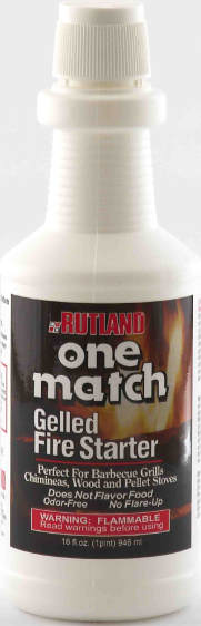 49 Rutland CampFire Starter For Use In Fireplaces/ Campfires/ Fire