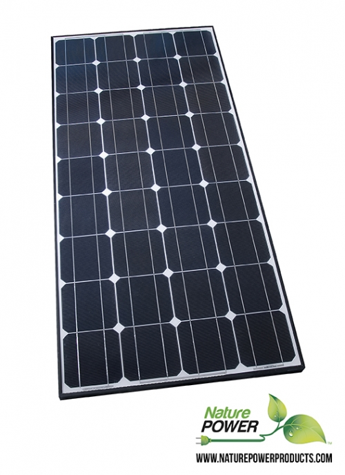 50092 RDK Products Solar Kit Permanent Mounting Solar Panel