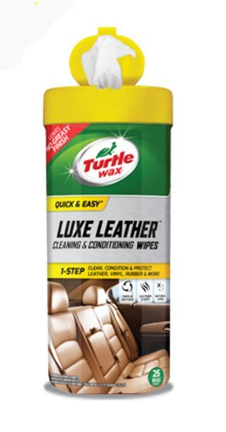 50650 Turtle Wax Inc. Cleaning Wipe Use To Clean And Protect Leather