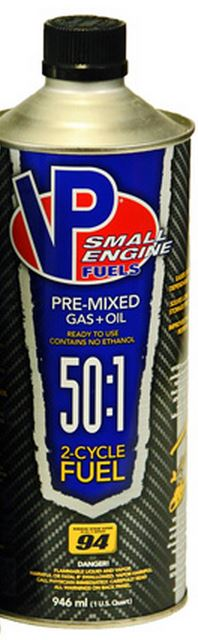 62351 VP Racing Fuels Fuel Use With Small Engines