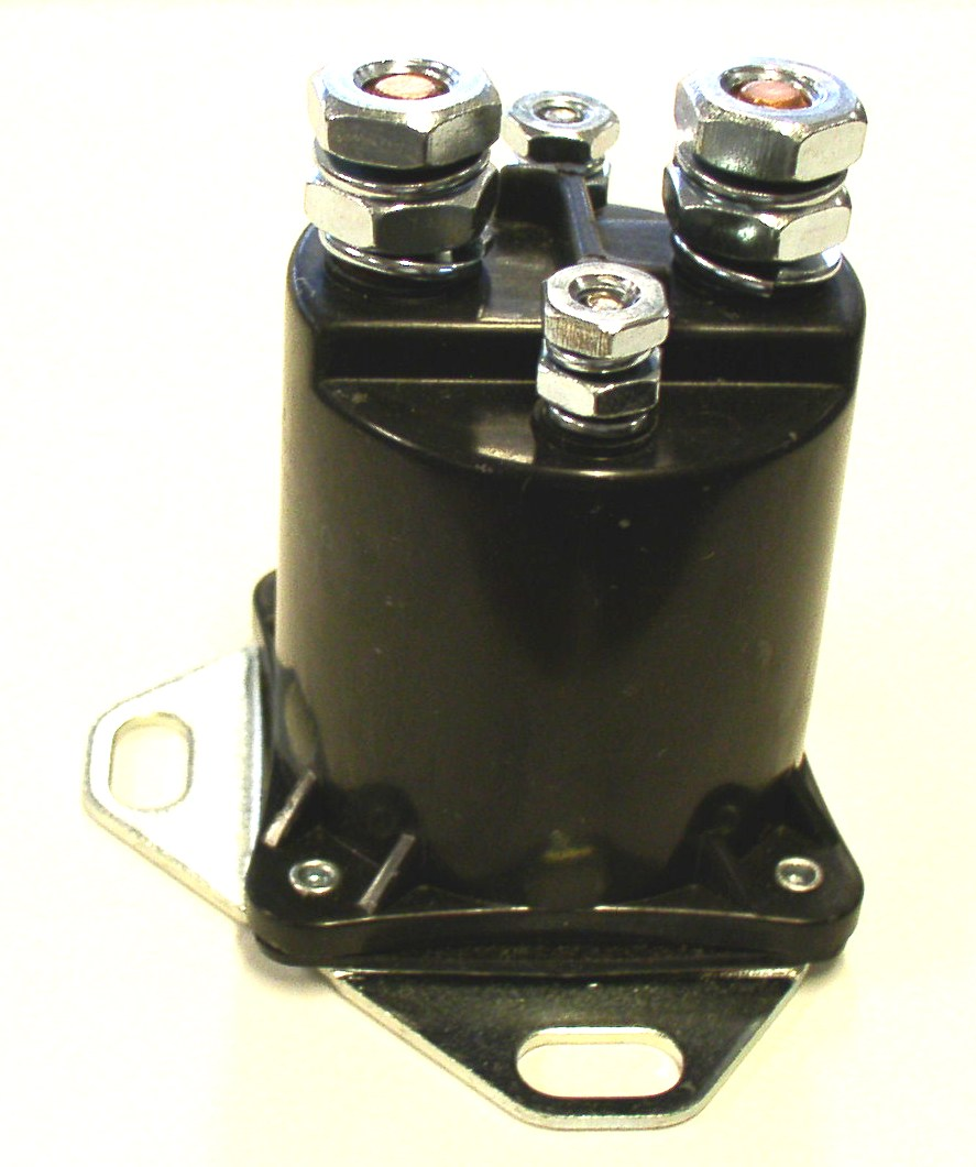 52-327 Pollak Starter Solenoid 100 Amps At 12 Volts DC Amps Single