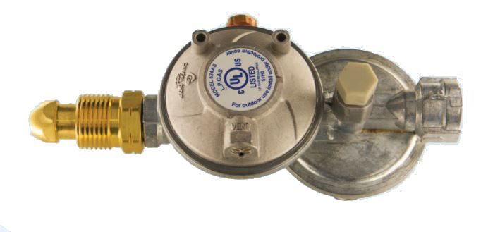 52A4900021 Cavagna Group Propane Regulator With Shutoff Valve