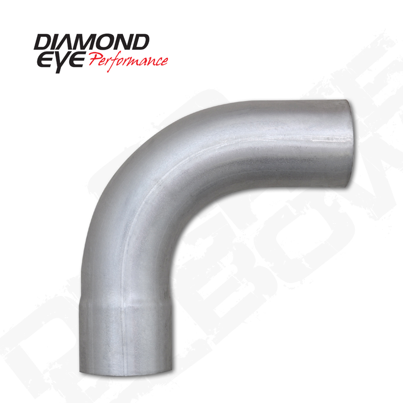 529020 Diamond Eye Performance Exhaust Pipe  Bend  90 Degree 4 Inch