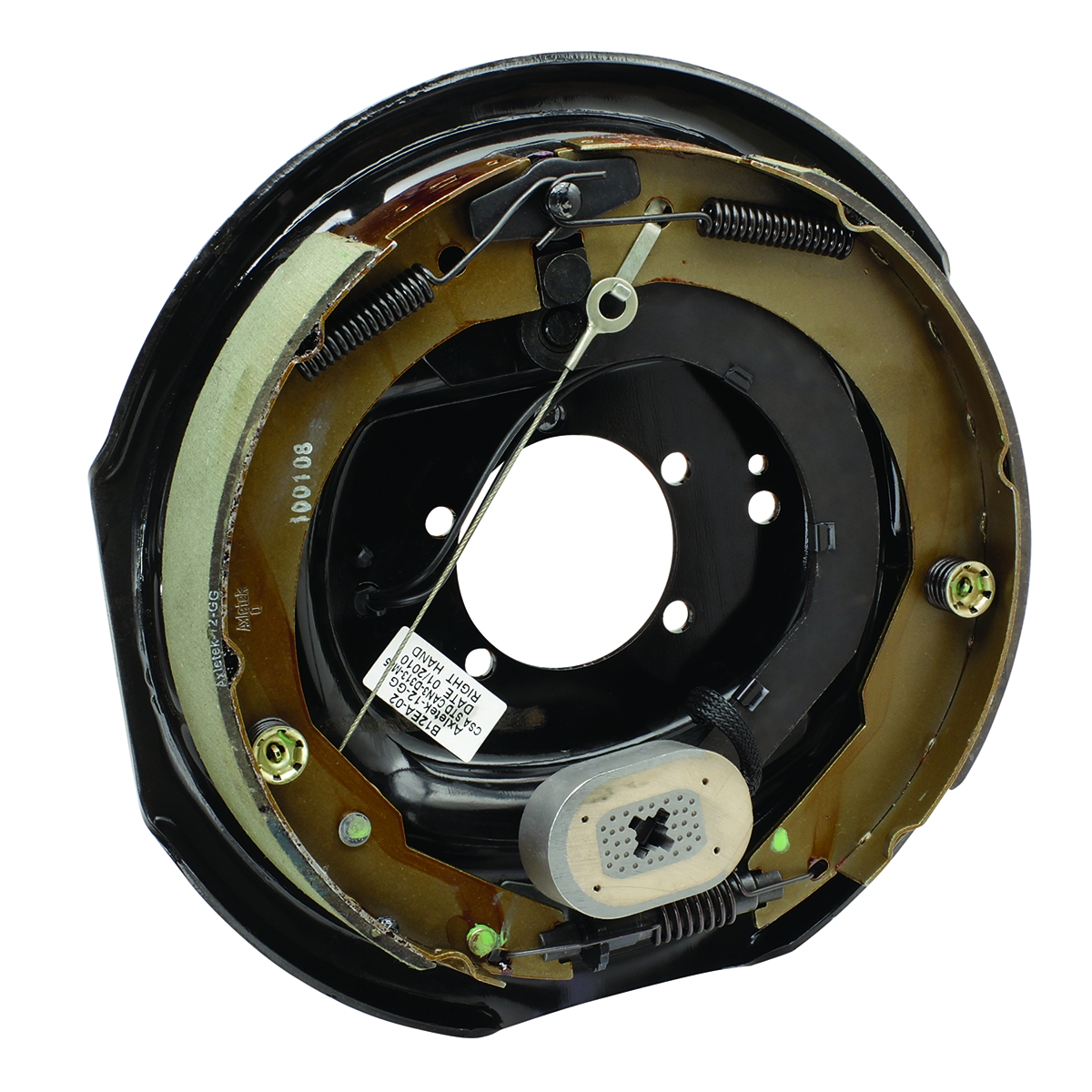 54801-007 Tekonsha Trailer Brake Assembly 12 Inch Diameter X 2 Inch