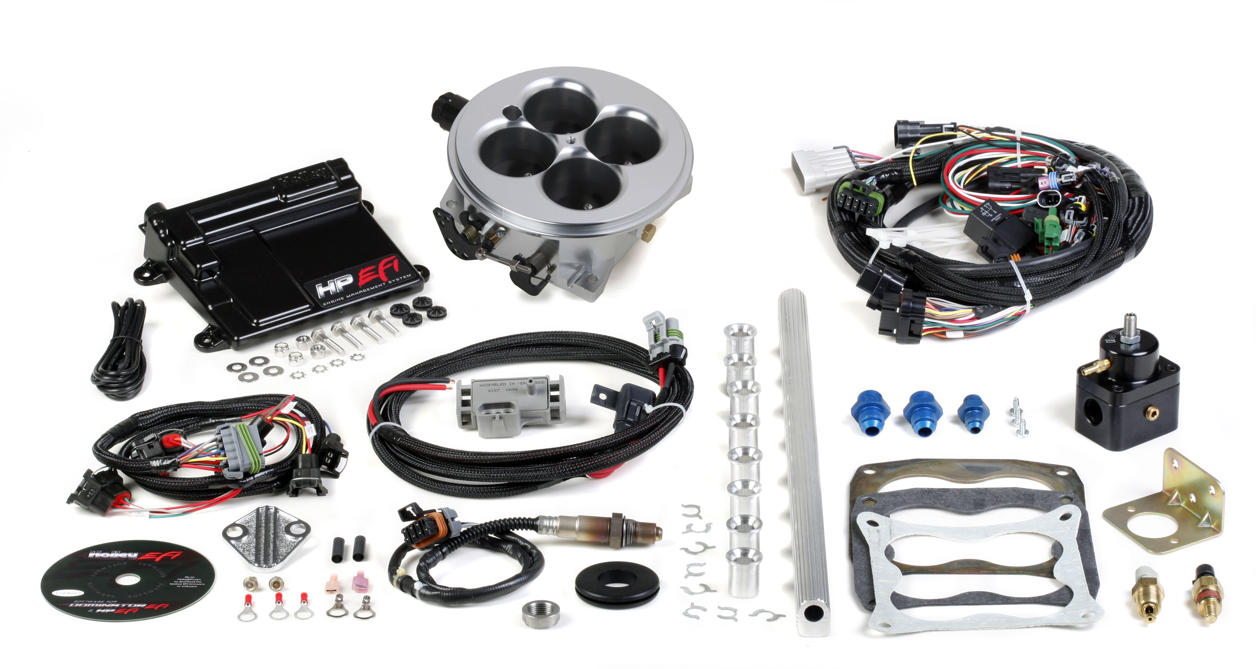 550-501 Holley Performance Fuel Injection System For Use With V8 Engines on