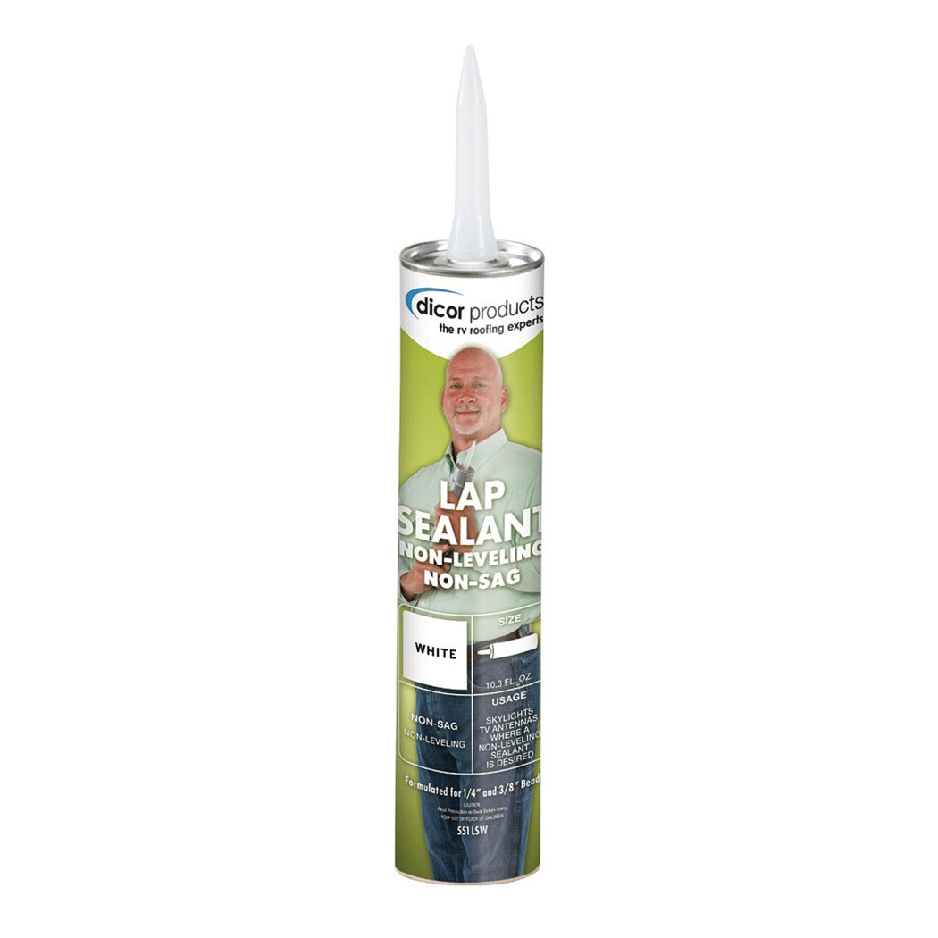 551LSW-1 Dicor Corp. Roof Sealant Use To Create A Watertight Seal