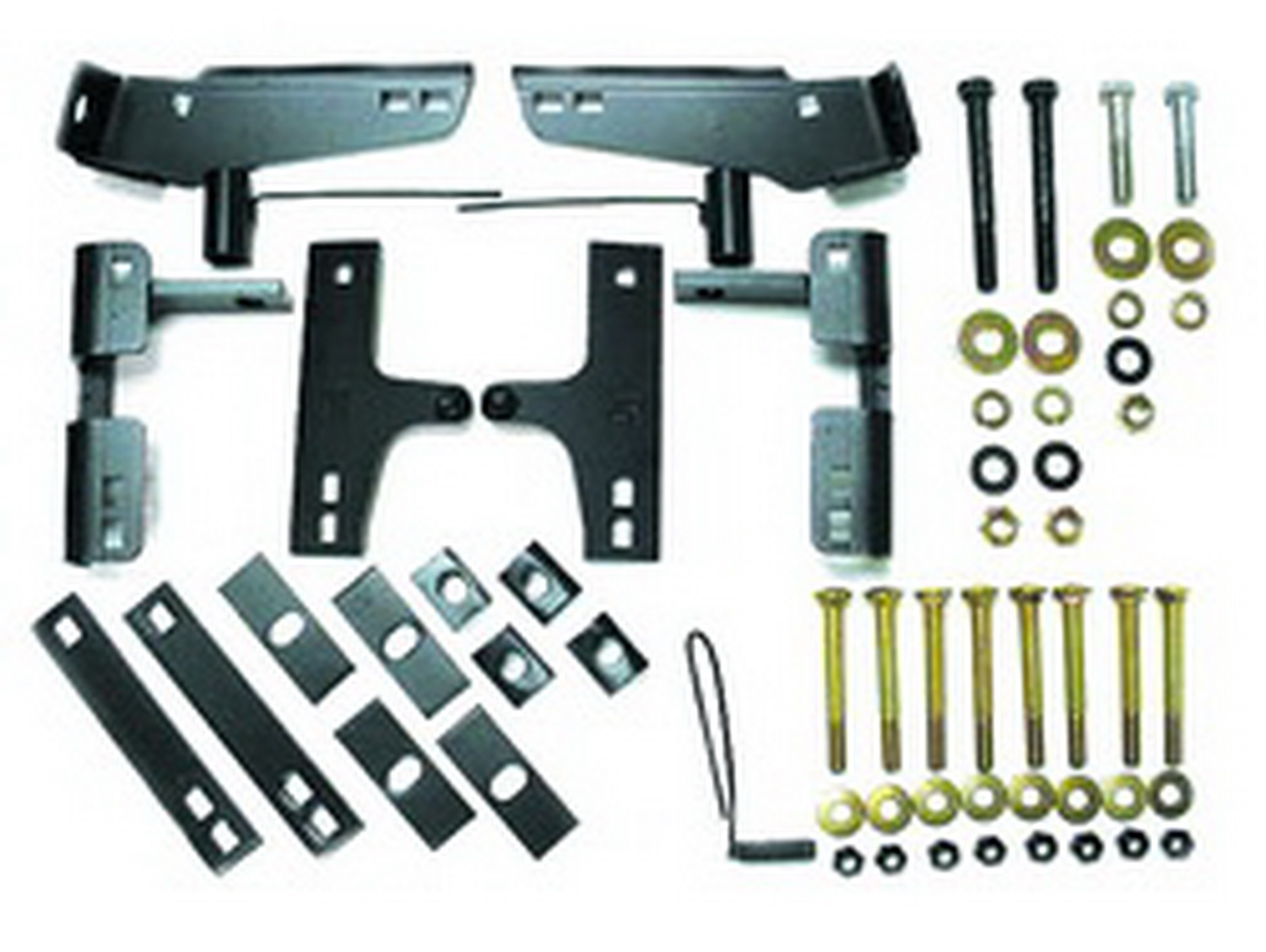 55000 Valley Industries Fifth Wheel Trailer Hitch Mount Kit Bracket