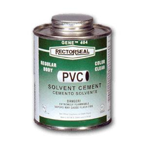 55901 RectorSeal Pipe Cement For PVC And Transition Joints