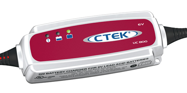 56-191 CTEK Chargers Battery Charger For 6 Volt Batteries