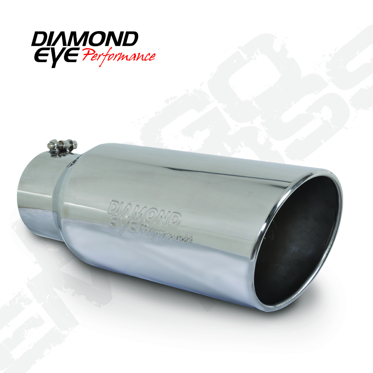 4 INLET X 5 OUTLET X 12 LONG... Diamond Eye Manufacturing Exhaust Tail Pipe Tip