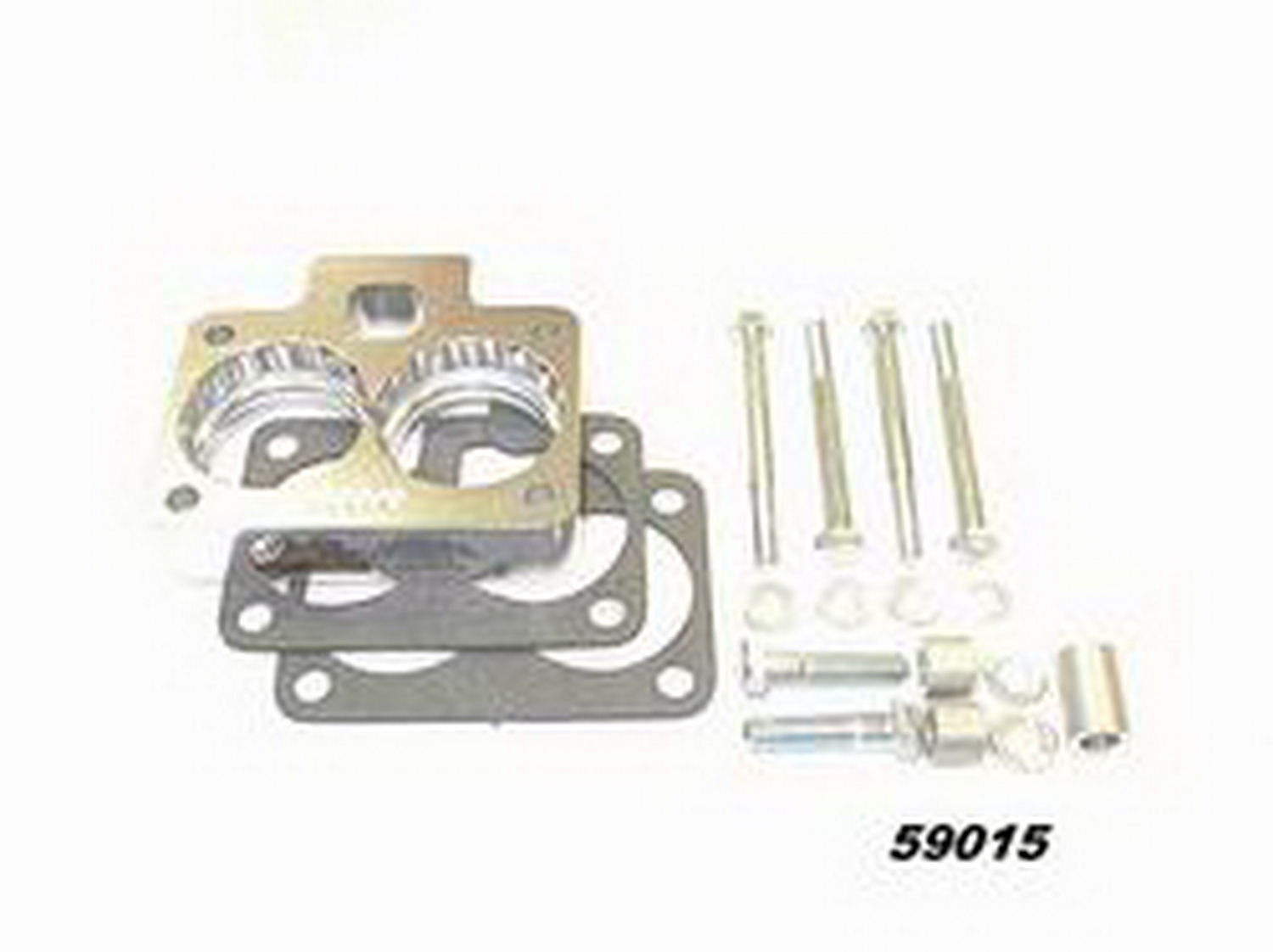 59005 Taylor Cable Throttle Body Spacer Billet Aluminum