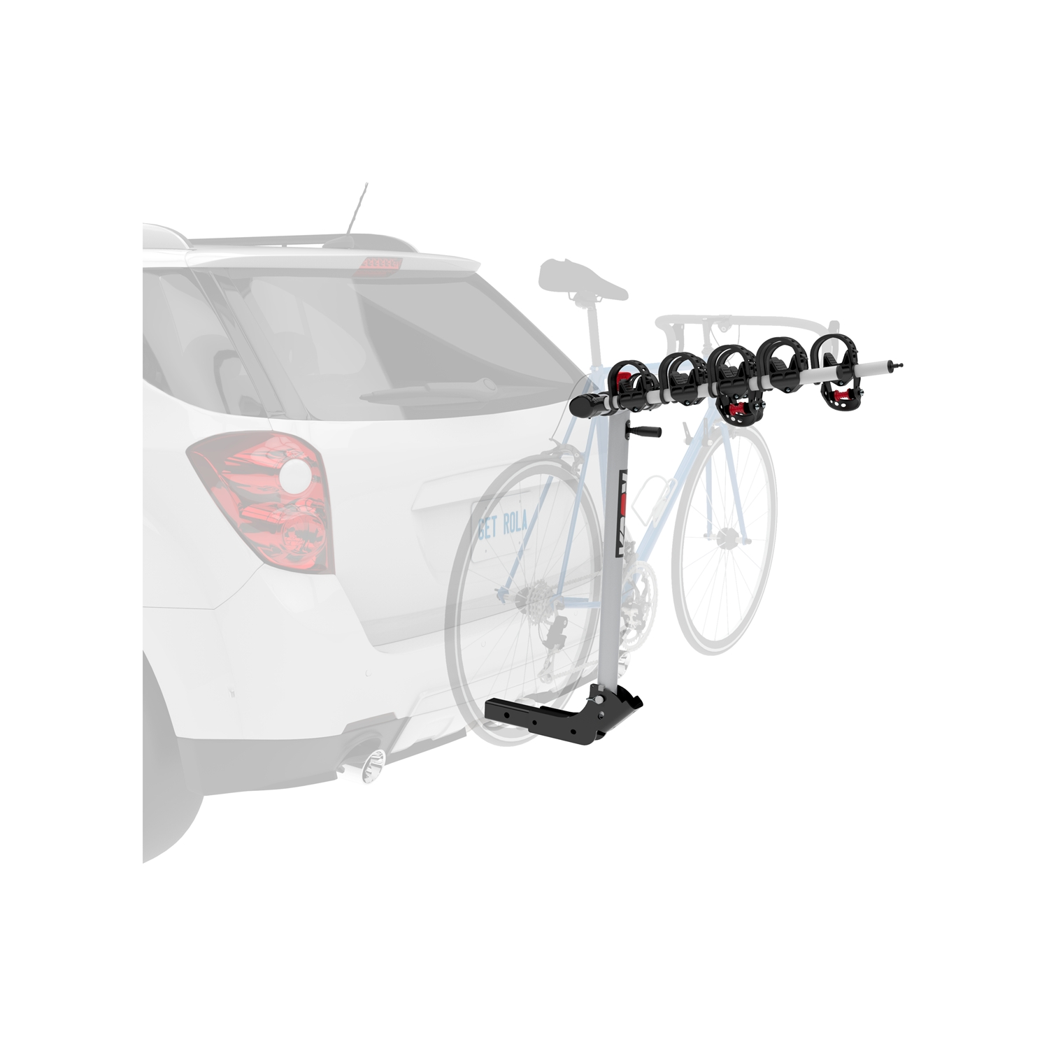59401 Rola Bike Rack - Receiver Hitch Mount 2 Inch Receiver Hitch