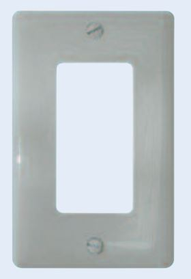 59939 Diamond Group Switch Plate Cover 1 Décor Switch Opening